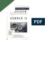 German II Booklet.doc