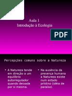 Aula 1 Introduc3a7c3a3o a Ecologia