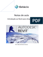 Apostila Revit Architecture 2011 Prof. Fábio de Oliveira Fonseca V1.2