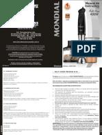 M-06 - Manual Mixer