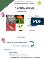 Tema 1. Teoría Celular