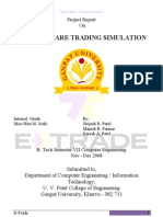 Project Report on Online Share Trading Simulation