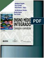 UN 4 Cap. Livro - Ensino Médio Integrado - Concepção e Contradições