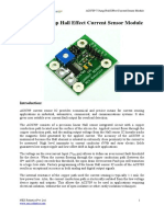 ACS709 75A Current Sensor Module
