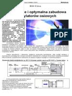 Oddymianie i Optymalna Zabudowa Wentylatorow Osiowych - Piotr Urasinski