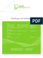 Catalogo Software LIMON