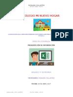Excel. Tablas Rosaura