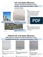 National Air and Space Museum Exterior Cladding Information Presentation