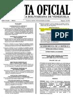 Estatuto de Personal Del MP_Gaceta Oficial Nº 40.785 10-11-2015(1)