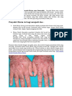 Obat Manjur Untuk Penyakit Eksim Atau Dermatitis