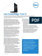Dell™ PowerEdge™ T110 II é ideal como primeiro servidor para pequenas empresas,