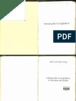 Introdução a Linguistica II - Cap.1 - Fonética