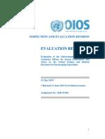 Rape Study UN Office of Internal Oversight Services (OIOS)