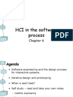 Lecture 11 Hci in the Software Process