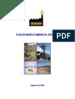 Plan Manejo Ambiental Integral