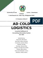 Ad Cold Logistics- AC508 Company Study