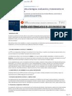 Hiperplasia Prostatica Benigna- Evaluacion y Tratamiento en Atencion Primaria