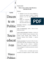 Políticas Socio Educativas