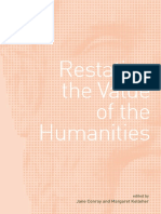 Restating the Value of the Humanities PDF