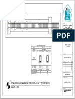 Detail Balok Melintang Aula Lt 3 (Type b2-02)