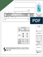 Detail Balok Melintang Lt 2 & 3 (Type b1-02)