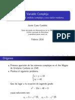 Variable Compleja IntroHistorica