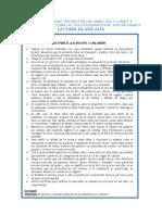 DIAGNOSTICO Anexo 1- Prueba Lectura Tercer Grado