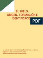 4.0 Origen, Formación e Identificación Del Suelo