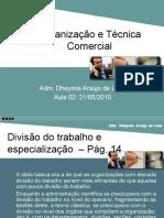 Aula 02 de 07 - Organização e Técnica Comercial (21-05-10)