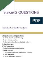 Unit 8 - Asking Questions