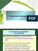 Week 11 - Classroom Management2008