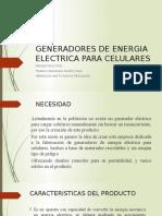 Generadores de Energia Electrica Para Celulares