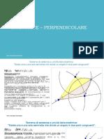 Teoria Dimostrazioni Teoremi Bisettrice e Perpendicolare