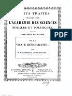De la vraie democratie - Barthélemy Saint-Hilaire, J. (Jules), 1805-1895.pdf
