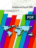 World Development Report 1989