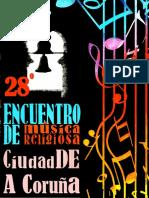 XXVIII Encuentro de Musica Religiosa Ciudad de A  Coruña