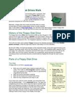 How Floppy Disk Drives Work