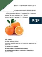 Sinteza Uleiului de Portocale
