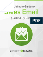 Ultimate Guide to Sales Email