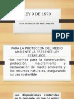 1.Diapositivas de La Ley 9 de 1979