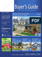 Coldwell Banker Olympia Real Estate Buyers Guide April 8th 2017