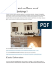 Which Are Various Reasons of Cracks in Buildings
