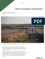 Clinton-Podesta Russian Connections- Cash Flowed to Clinton Foundation Amid Russian Uranium Deal.pdf