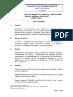 Procotolo Generico de Manejo Documental y Archivistico2015 Modelo 1