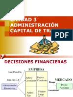 UNIDAD 3 Administración Del Capital Trabajo