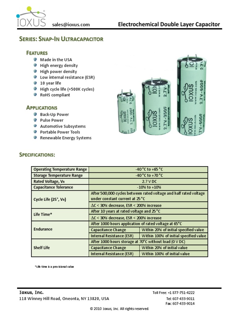 RSC2R7407SR (1) | Capacitor | Electronic Engineering