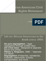 Africanamerican Civil Rights Movement