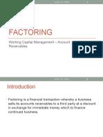 Factoring - Mock