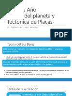 Origen Del Planeta y Tectonica de Placas