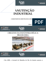 Manutenção Industrial - Indústria Bélica